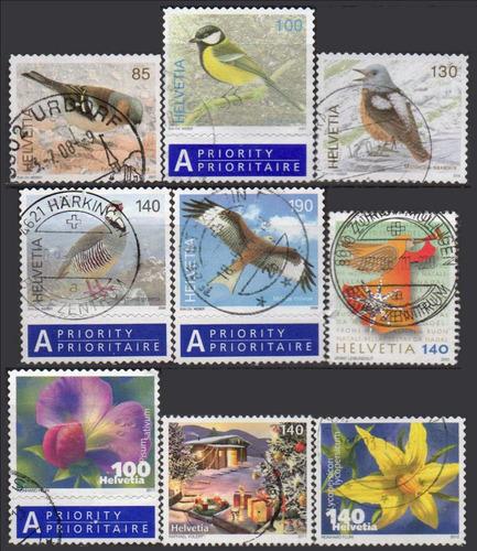 suíça com selos