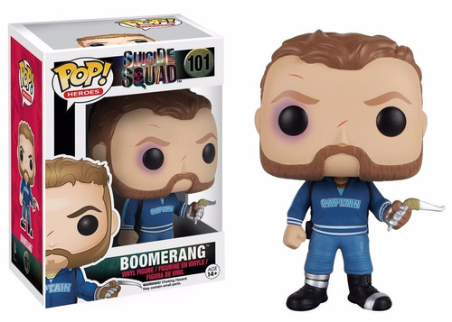 suicide squad funko pop movies: action figure, boomerang