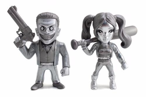suicide squad twin pack exclusive - metal die cast