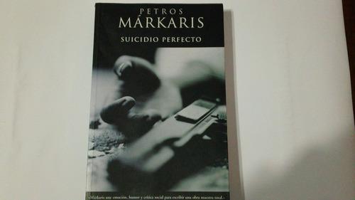suicidio perfecto. petros markaris
