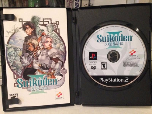 suikoden iii completo para ps2 black label suikoden 3 rpg