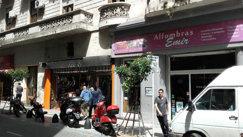 suipacha 600 - microcentro (comercial) - locales a la calle - venta