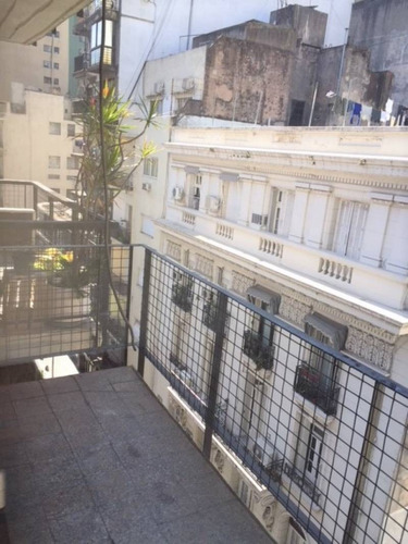 suipacha y cordoba excel ambiente al fte con balcón ap prof