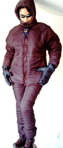 suit termico chamarra pantalon traje nieve montaña esqui