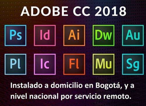 suite adobe master cc domicilio bogotá mac y windows