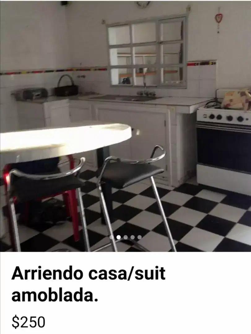 suite amoblada (quito norte- barrio santa lucia)