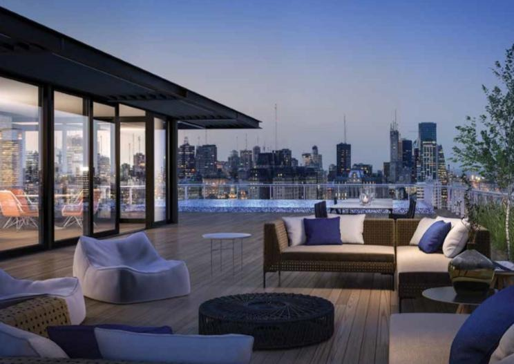 suite de 2 ambientes con vista al dique en sls lux puerto madero