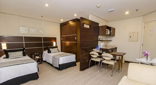 suítes com 28 m² 1 vaga mobiliado (11) 97119-0488(whatsapp).