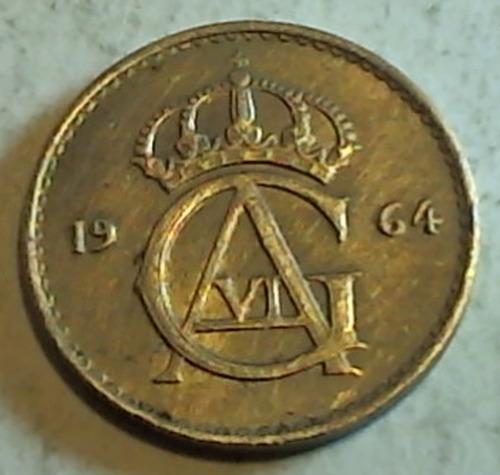 suiza - monede de 25 ore - año: 1964