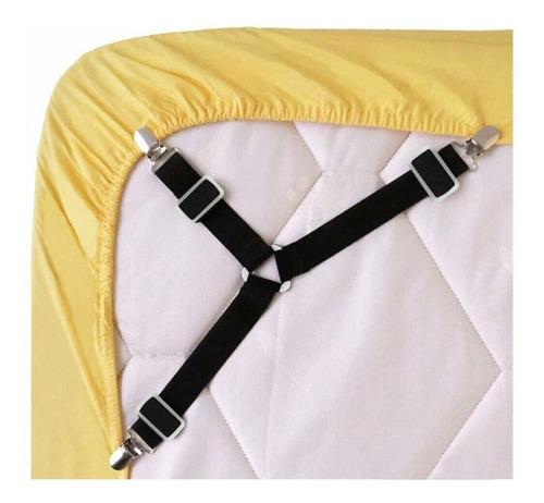 sujeciones de la hoja de cama, 4 piezas, triángulo ajus...