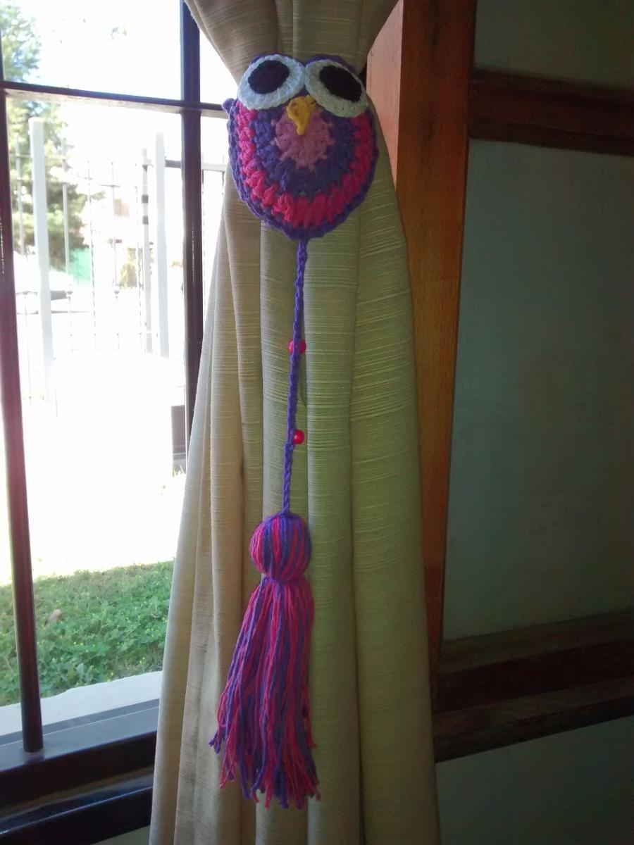 Sujeta Agarra Cortina Tejido Al Crochet Buho (pack X2) - $ 130,00 en ...