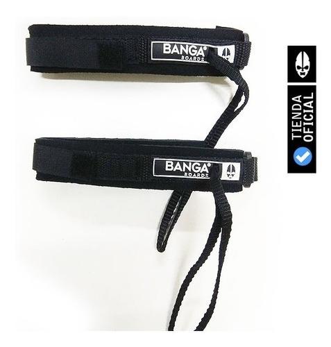 sujeta aletas banga boards oficial - leash pita patas de rana - bodyboard, natacion, surf, barrenar
