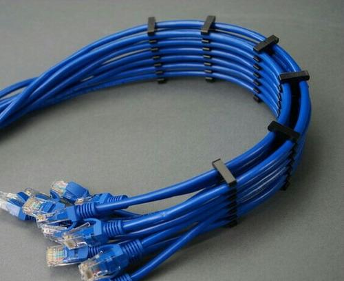 sujeta cable utp cat6 ethernet organizador