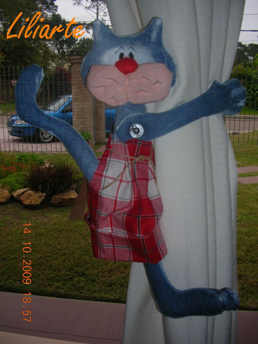 sujeta cortinas gato chico decoracin para nios y nias cargando zoom