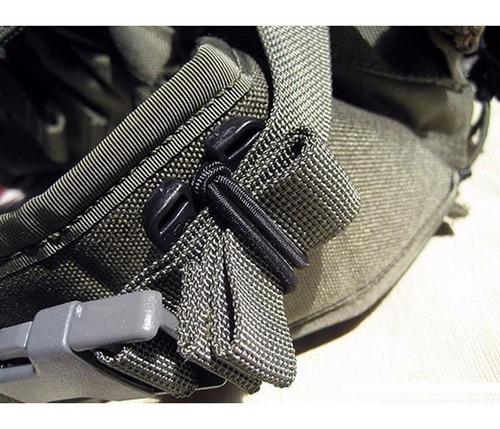 sujetador cinta para sistema molle elastico