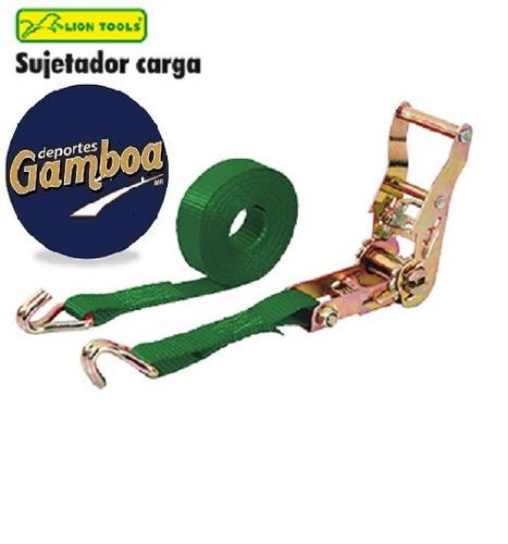 sujetador de carga con matraca lion tools ¡envio gratis!