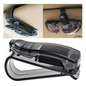 Sujetador Lentes Gafas Para Tapasol Auto Clip Gancho Protege
