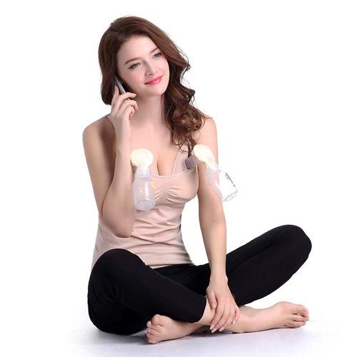 sujetador manos libres para extractor doble de leche materna