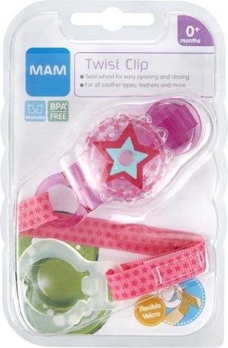 sujetador o porta chupón para bebés - mam