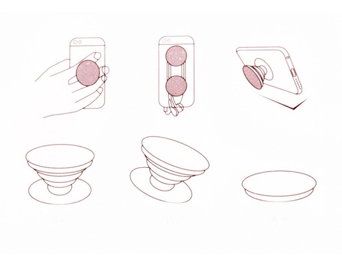 sujetador socket para celular 3d soporte airsocket