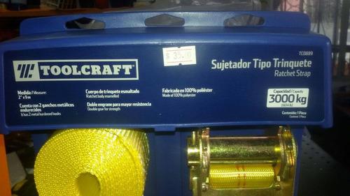 sujetador tipo trinquete marca toolcraft