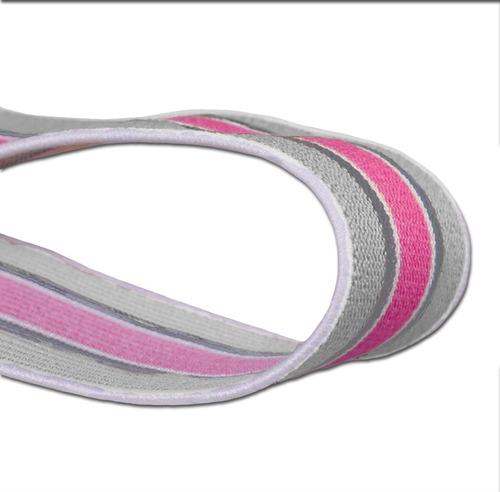 sujetador y abultador de miembro masculino rosa con gris