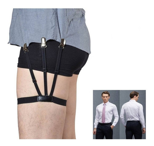 sujetadores elásticos camisa caballero oficina unitallafull