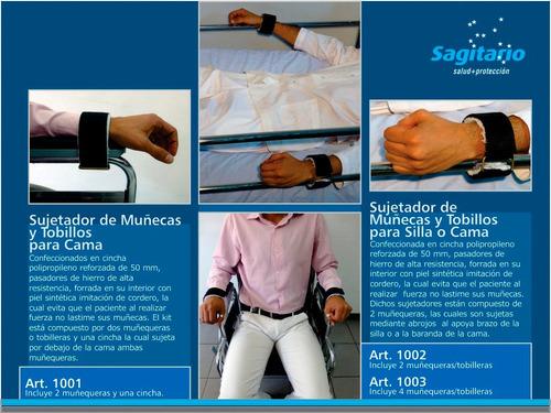 sujetadores para pacientes