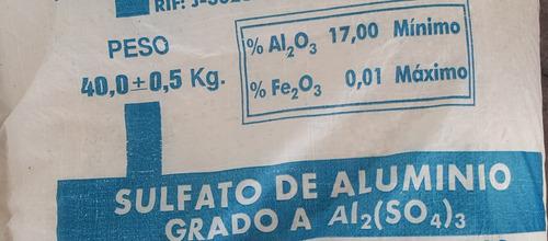 sulfato de aluminio tipo a