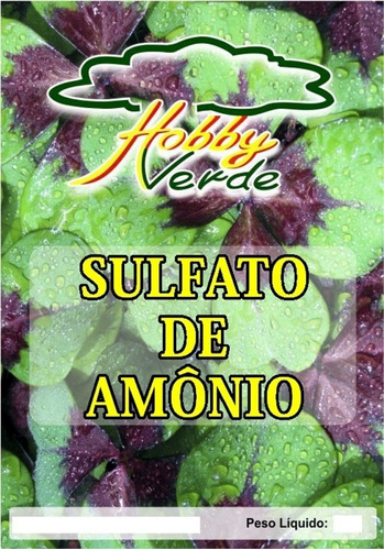 sulfato de amônio adubo solúvel solução nutritiva - 1 kg