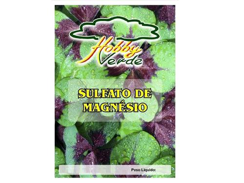 sulfato de magnésio = sal amargo = sal epsom hidroponia 5 kg