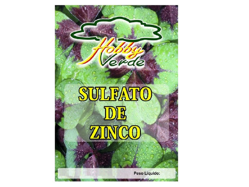 sulfato de zinco adubo solúvel solução nutritiva - 1 kg
