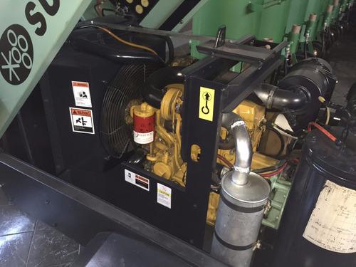 sullair 185pcm compresores de aire año 2008