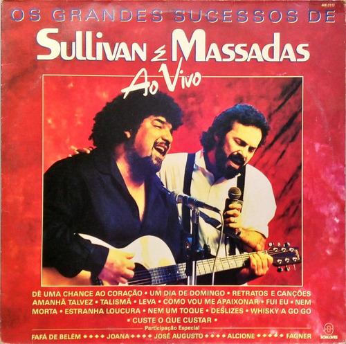 sullivan e massadas lp os grandes sucessos ao vivo 16507