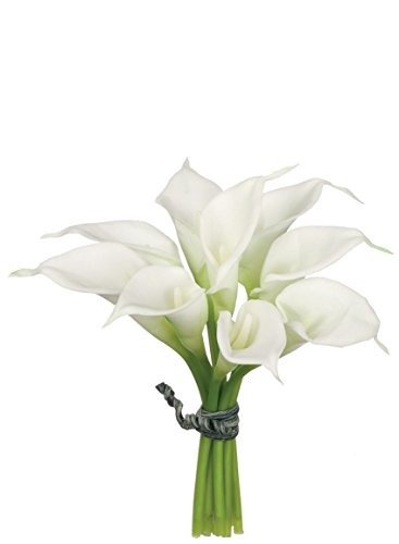 Sullivans White Calla Lily Bouquet Foam Artificial Flowers