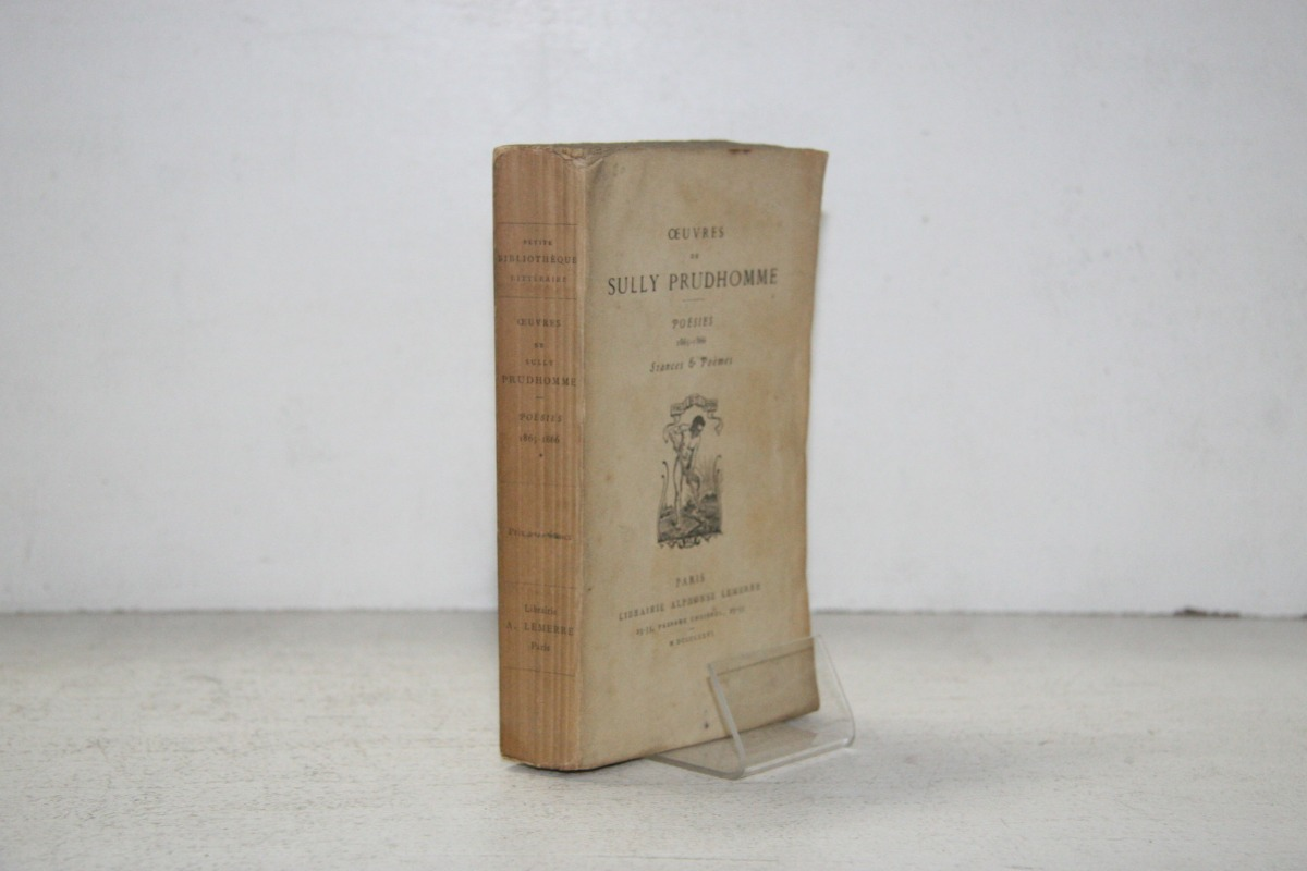 Sully Prudhomme Poesies 1865 1866 Stances Poemes 14000
