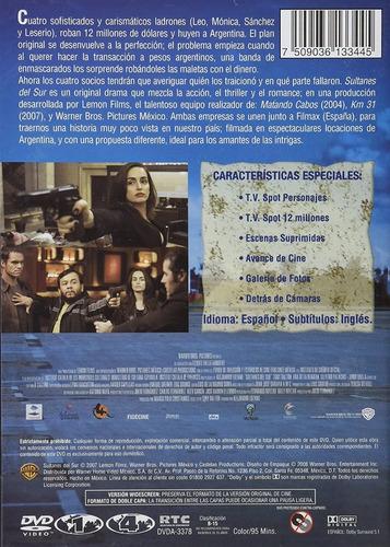 sultanes del sur tony dalton pelicula dvd