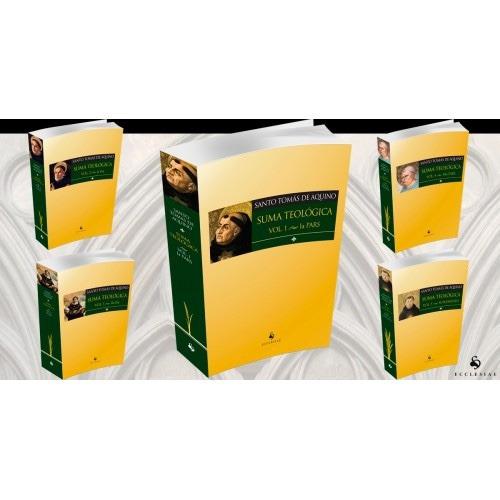 suma teológica (5 vols. - completa) - 12x