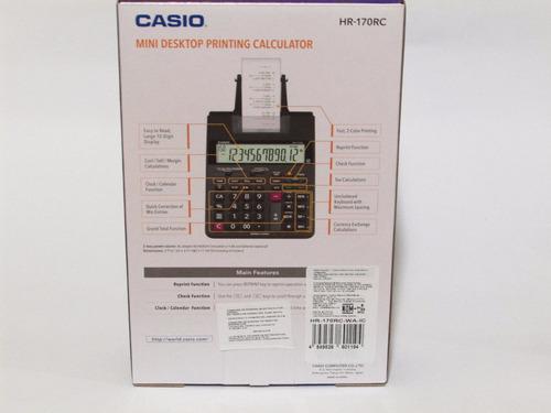 sumadora casio hr-170rc-bk 150 pasos check e gratis|watchit0