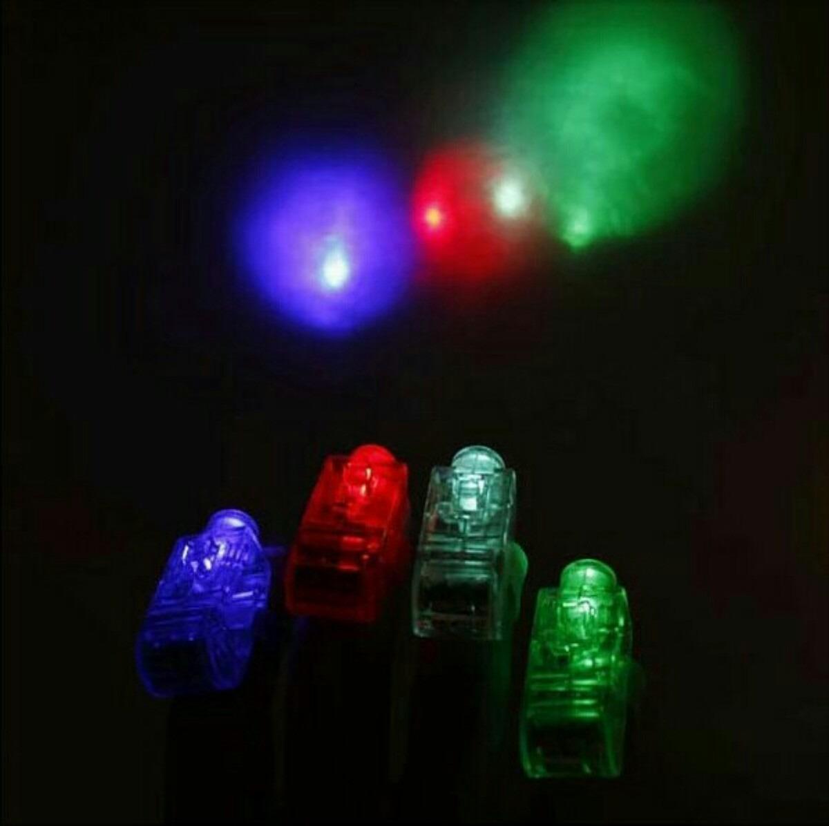 Suministro de hora loca luces led para dedo en colores - Luces led de colores ...