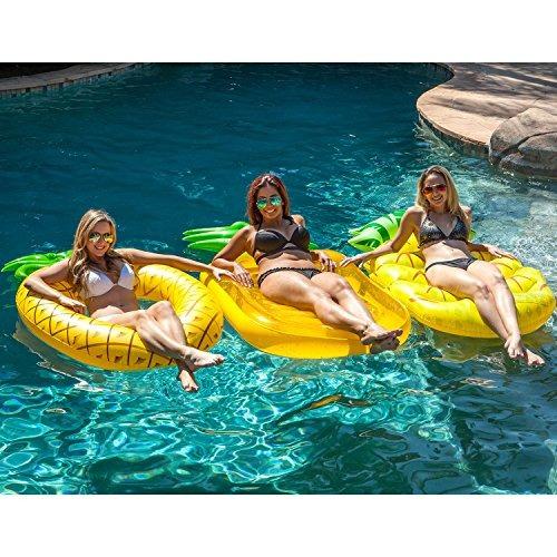 suministro de la piscina de estados unidos gran flotador de