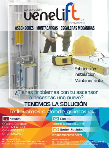 suministro e instalación de piezas y partes de ascensores
