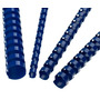 Anillo Plastico P/ Encuadernar Azul Carta De 10 Mm 25 Und