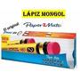 Lapiz Mongol Modelo 480 Al Mayor (24gruesas-3.456 Lapices)