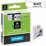 Cinta Dymo D1 Label Cassette Blanca 12 Mm X 7 M