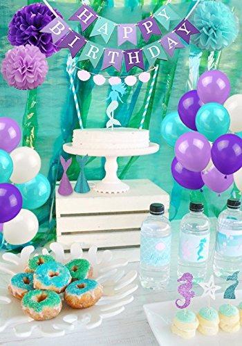 Suministros Para Fiestas De Sirena Y Decoraciones De Fiesta