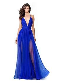 Vestidos Cortos Para Jardin Vestidos Graduación Largo Azul