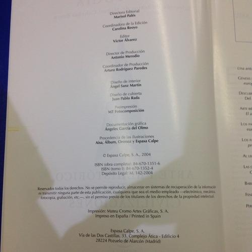 summa artis historia general del arte antología 16 tomos