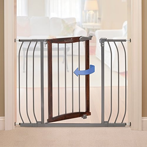 summer infant anywhere decorativo walkthru gate