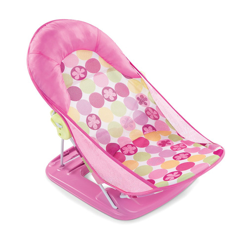 summer infant deluxe baby bather, rosa